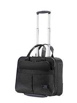 City vibe black rolling tote 16