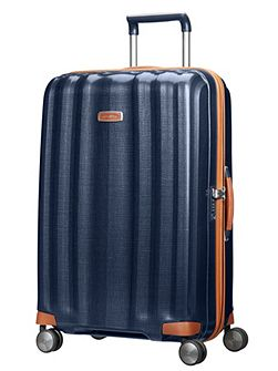 Lite-cube dlx blue 4 wheel hard large suitcase