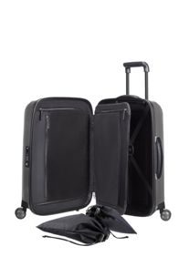 Samsonite Lite-cube dlx grey 4 wheel hard cabin suitcase