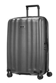 Samsonite Lite-cube dlx grey 4 wheel hard large suitcase