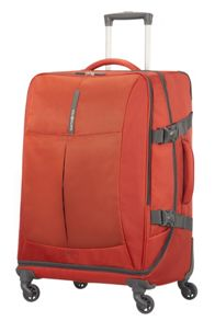 Samsonite 4mation Casual Red 4 Wheel Medium Duffle Suitcase