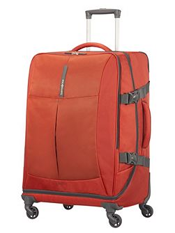 4mation Casual Red 4 Wheel Medium Duffle Suitcase