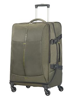4mation Casual Olive 4 Wheel Medium Duffle Case