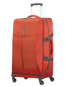 Samsonite 4mation Red 4 Wheel Suitcase