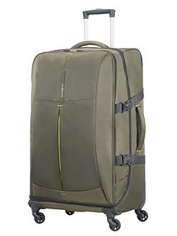 4mation Casual Olive 4 Wheel Large Duffle Case