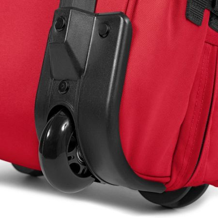 Eastpak Tranverz small chuppachop red wheeled suitcase