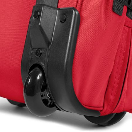 Eastpak Tranverz large chuppachop red wheeled suitcase