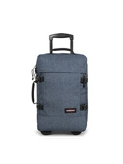 Tranverz small double denim wheeled suitcase