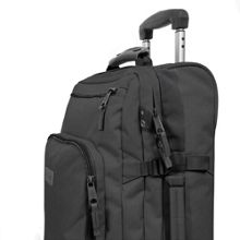 Eastpak Kaley small black wheeled suitcase