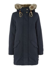 Levi's Flight hooded parka with liner