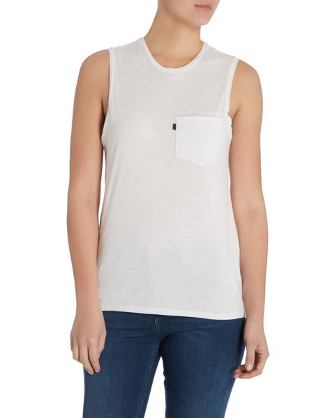 Levi's Black Tab Muscle tee in orchid tint