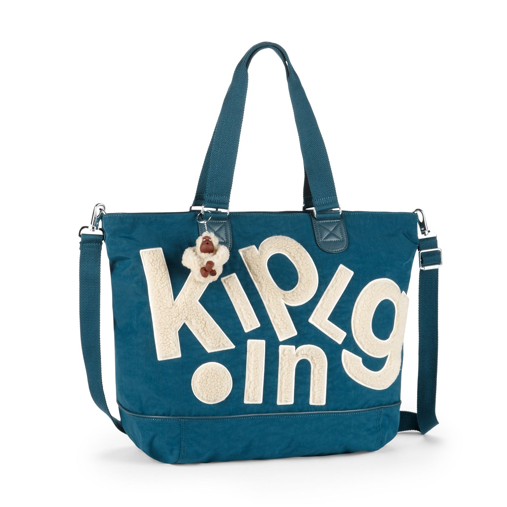 Kipling Shopper Combo Large Shoulder Bag With Removable Strap 88