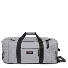Eastpak Leatherface medium sunday grey wheeled suitcase
