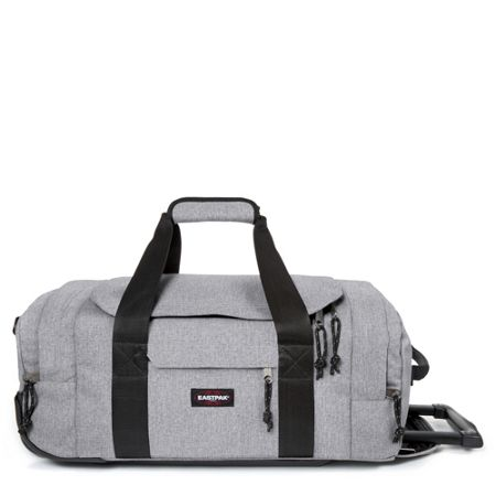 Eastpak Leatherface large sunday grey wheeled suitcase
