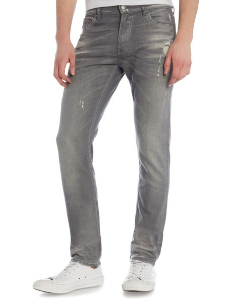 7 For All Mankind Ronnie Skinny Fit Stretch Jeans