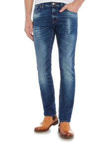 7 For All Mankind Ronnie Seal Ledge Skinny Stretch Jeans