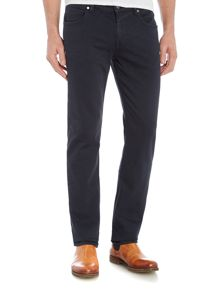 7 For All Mankind `Slimmy` Luxe Performance Navy Stretch Jeans