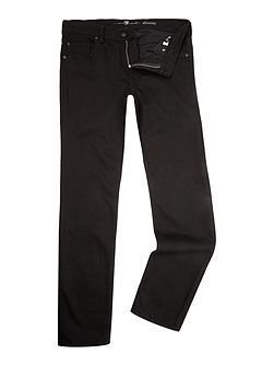 `Slimmy` Slim Fit Black Stretch Jeans