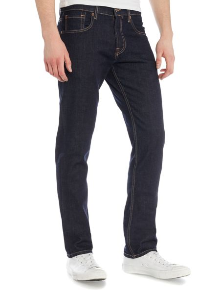 7 For All Mankind `The Straight` NY Rinse Stretch Jeans