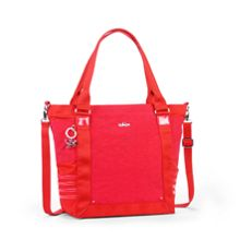 Kiera twist removable strap tote bag