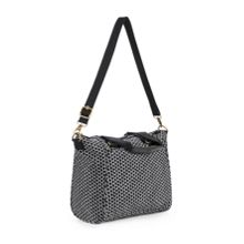Amiel medium removable strap handbag