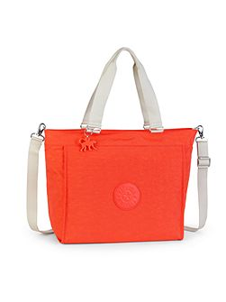 New shopper L removable strap tote bag