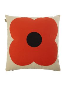 Orla Kiely Slate Blue/Red Giant Abacus Printed Cushion