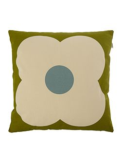 Olive/Duck Egg Giant Abacus Printed Cushion