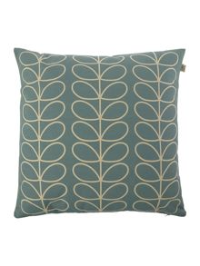 Orla Kiely Linear Stem Duck Egg Cushion