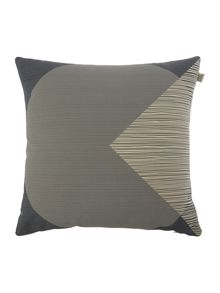 Orla Kiely `OK` Grey Cushion