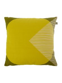 Orla Kiely OK Yellow Cushion