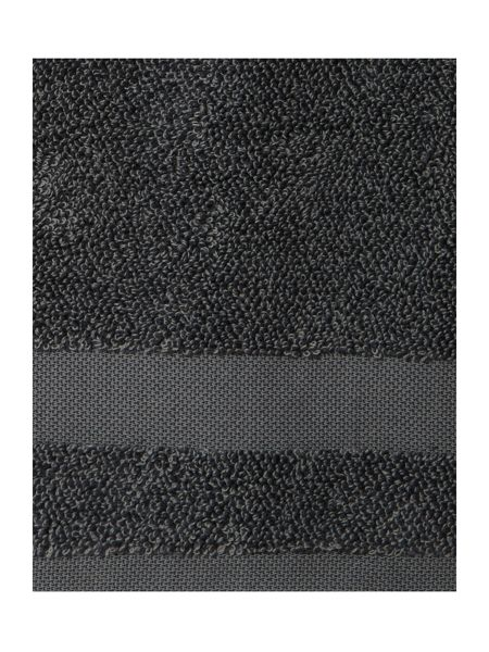 Gray & Willow Marl Hand Towel in Charcoal