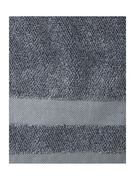 Gray & Willow Marl Bath Sheet in Blue