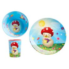 Tulipop Bubble Melamine Dinner Set