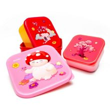Tulipop Bubble Lunch Box Set (3 pc)