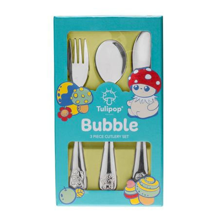Tulipop Bubble Cutlery Set