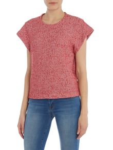 Noa Noa Blouse with short sleeves