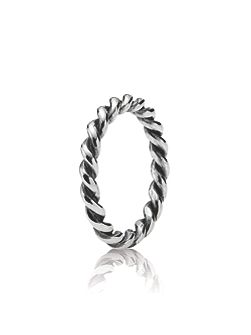 Pandora Sterling silver twist ring