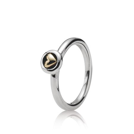 Pandora Heart stacking ring