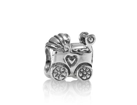 Pandora Sterling Silver Baby Carriage Charm