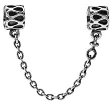 Sterling Silver Safety Chain - 4cm