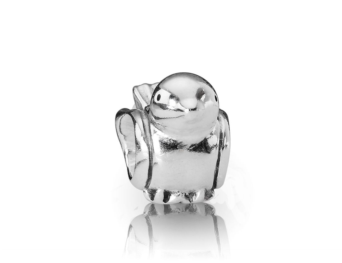 Sterling Silver Little Bird Charm,