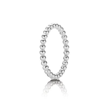 Pandora Sterling silver small bubble ring