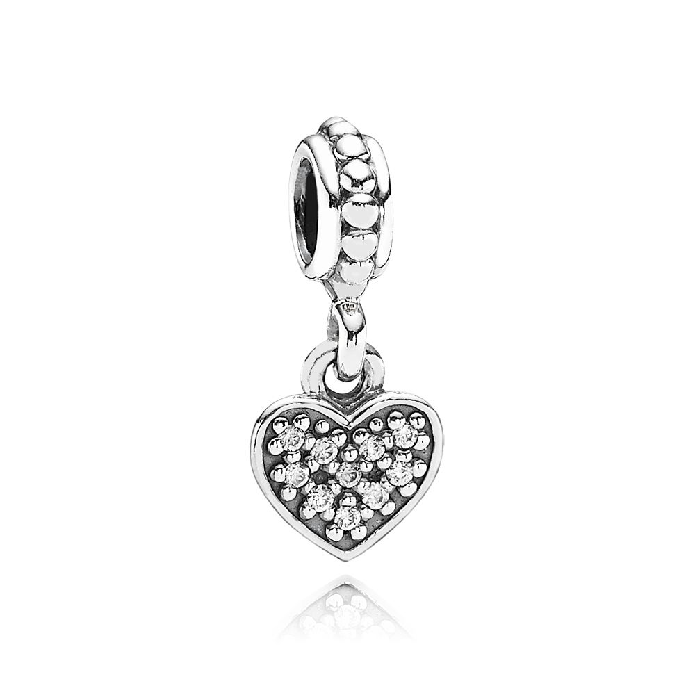 Heart Dangle Charm