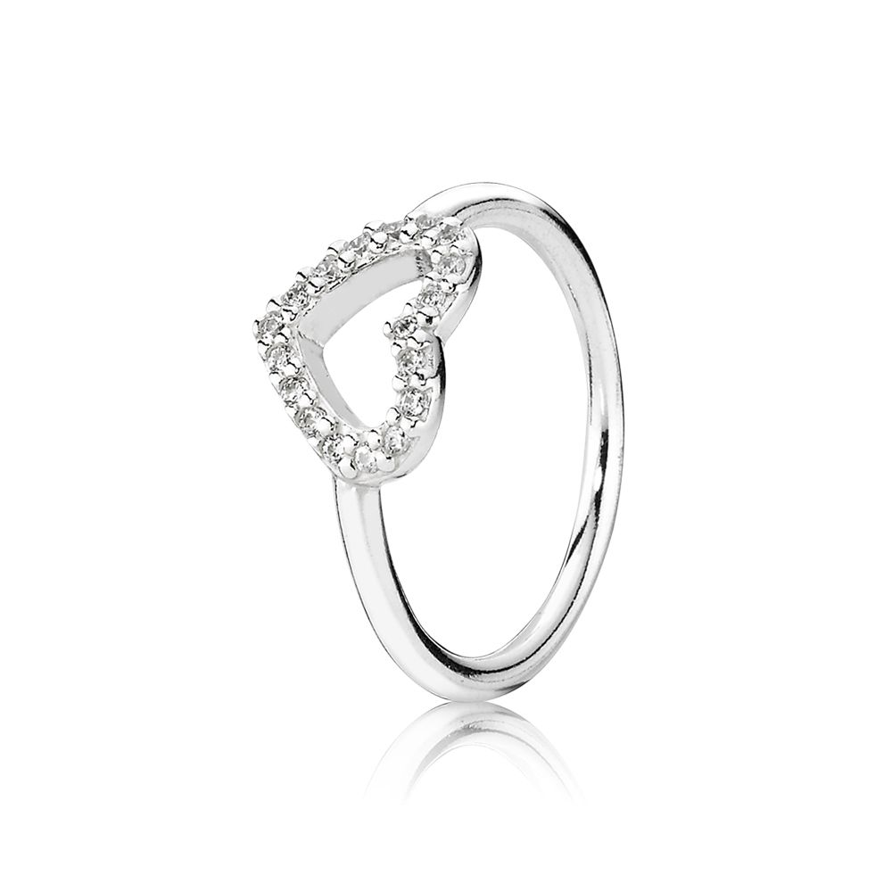 A Love Story Heart Ring