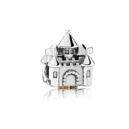 Pandora Castle & Crown Charm