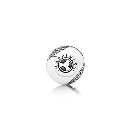 Pandora Happiness silver charm