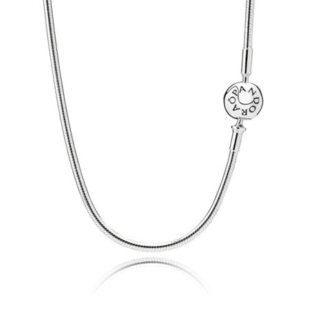 Pandora Essence collection necklace in silver