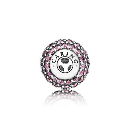 Pandora Caring essence collection charm red cz