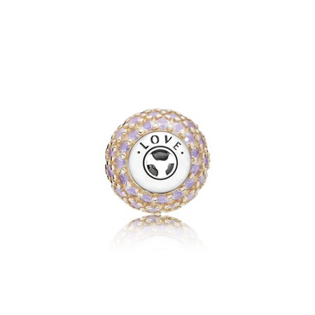 Pandora Love essence collection charm rose gold
